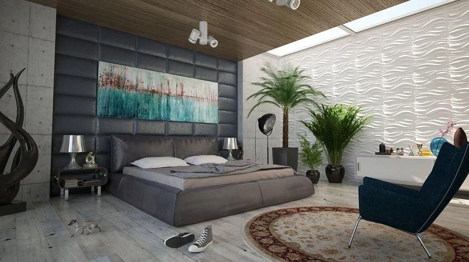 Décoration murale de chambre à coucher