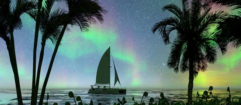 Croisière spitzberg : Quand et où voir les aurores boréales ?