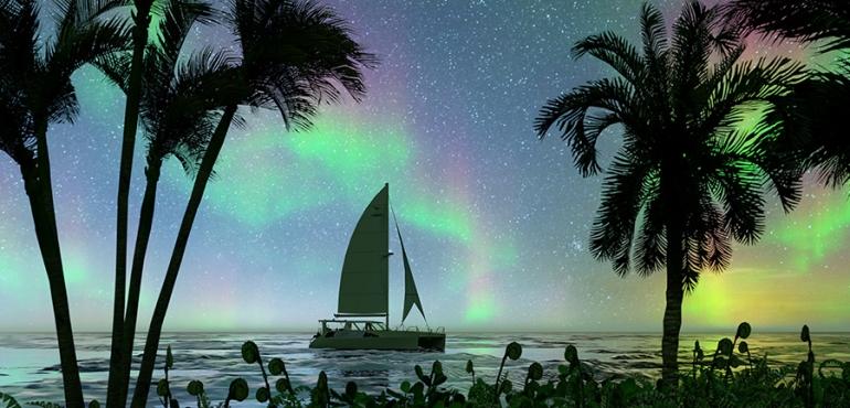 aurores-boréales-bateau