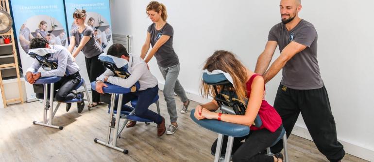 Massage en entreprise : bon ou mauvais pour l'entreprise ?